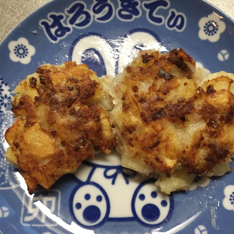 コロッケ風ジャガイモ餅