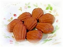ビタントニオde板チョコマドレーヌ