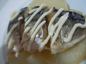和風☆大根と塩鯖のソテー
