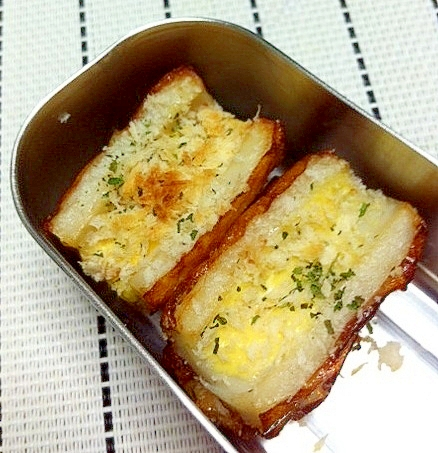 お弁当にも♪ちくわのパン粉焼き☆