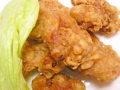 鶏の唐揚げカレー風味