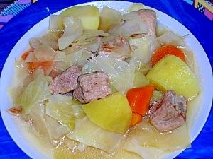 ポトフ風~♪シンプルな豚肉と野菜のスープ煮