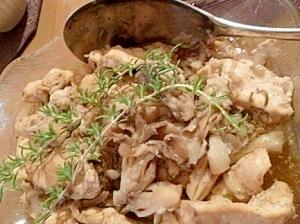 チキンと舞茸のイタリアン蒸し