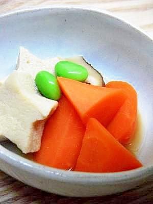 昆布つゆだけ!高野豆腐煮