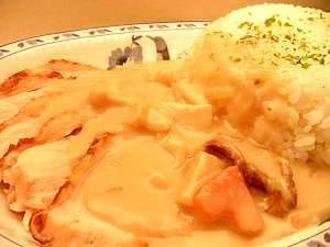 鶏むね柔らか^m^ホワイトシチューディッシュ