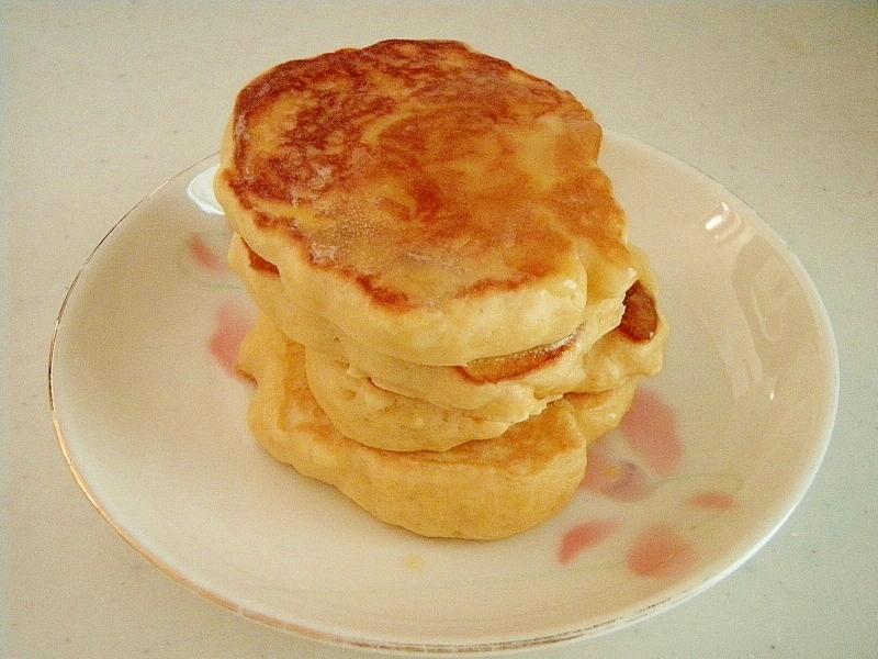 強力粉で★ふわふわミニパンケーキ