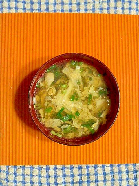 めかぶの卵スープ♪ レシピ・作り方