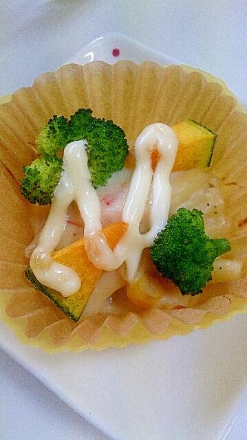豆乳でマカロニグラタン~弁当には小分け冷凍~