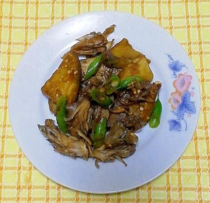 茄子と舞茸の炒め煮