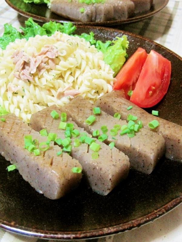 4. 味噌マヨこんにゃくステーキ