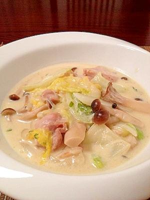クリミィ~!鶏肉と白菜ときのこのクリーム煮☆