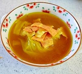 カレーライスの残りものをスープに変身!!