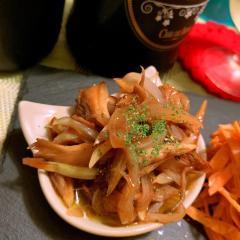 舞茸と玉ねぎのバルサミコオイルマリネ