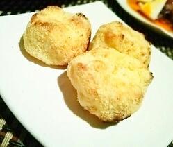 粉末高野豆腐の粉で、揚げないさくほくコロッケ