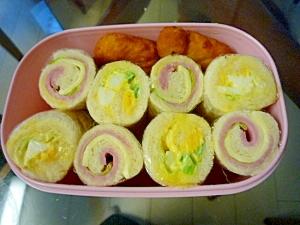 食べやすい お弁当にロールサンド : 色とりどり♪サンドイッチのお弁当レシピ☆ - NAVER まとめ