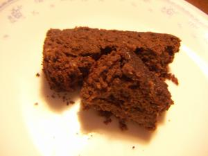 バター・小麦粉なし!おからチョコケーキ