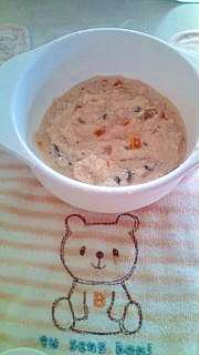 高野豆腐で白合え~離乳食~