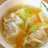 冷凍ぎょうざと白菜の中華スープの参考画像
