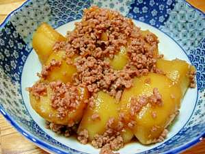 ひき肉とジャガイモで、ジャガイモのそぼろ煮 レシピ・作り方 by もりくーん|楽天レシピ