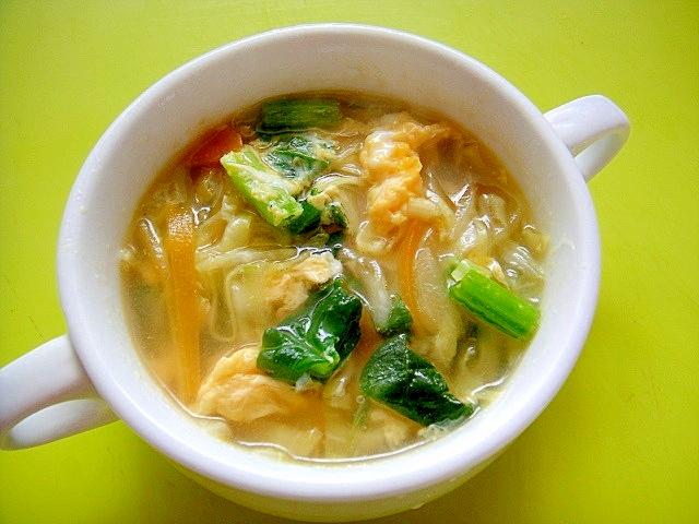 ほうれん草 コンソメ スープ