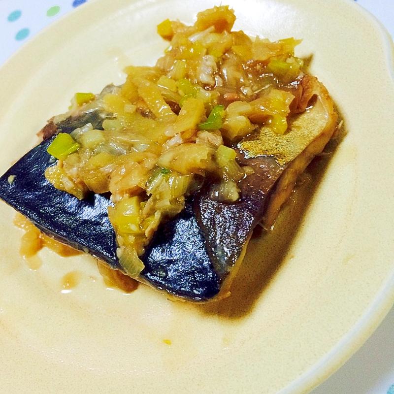 DHAで免疫力UP!鯖の味噌煮