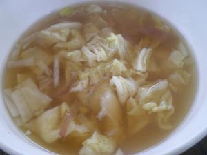 キャベツと冥加のスープ