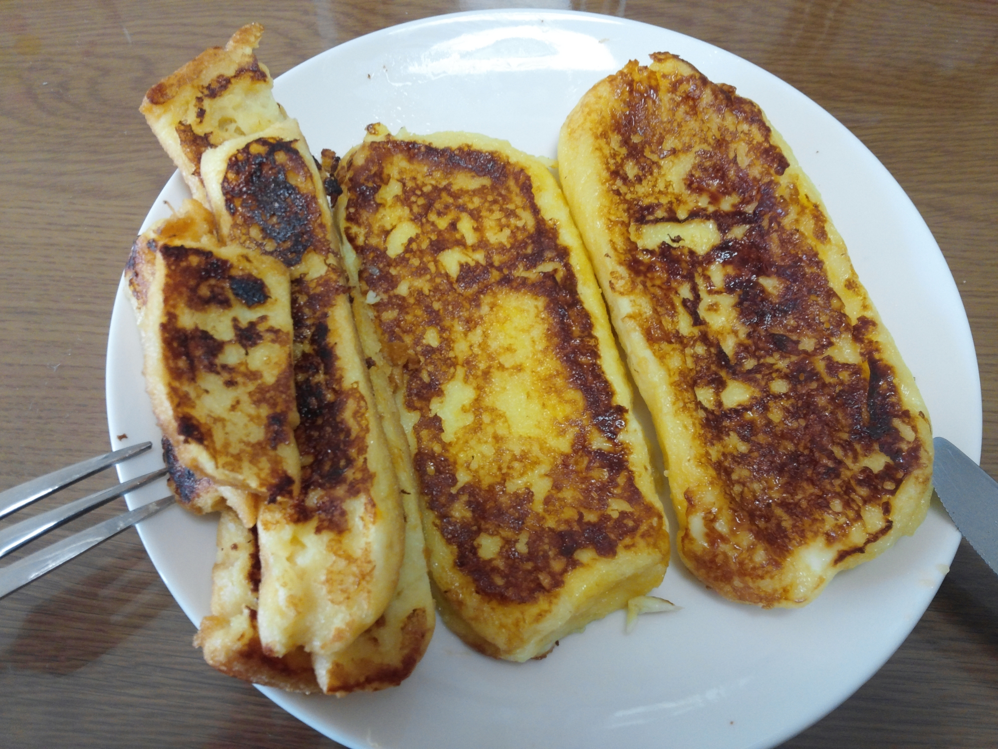 美味しいフレンチトースト(食パン)