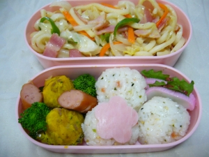 手毬寿司弁当(一瞬で出来る混ぜ寿司)