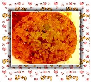 牛肉と玉ねぎのガーリックしょうゆ炒飯