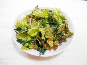レタス わかめ サラダ