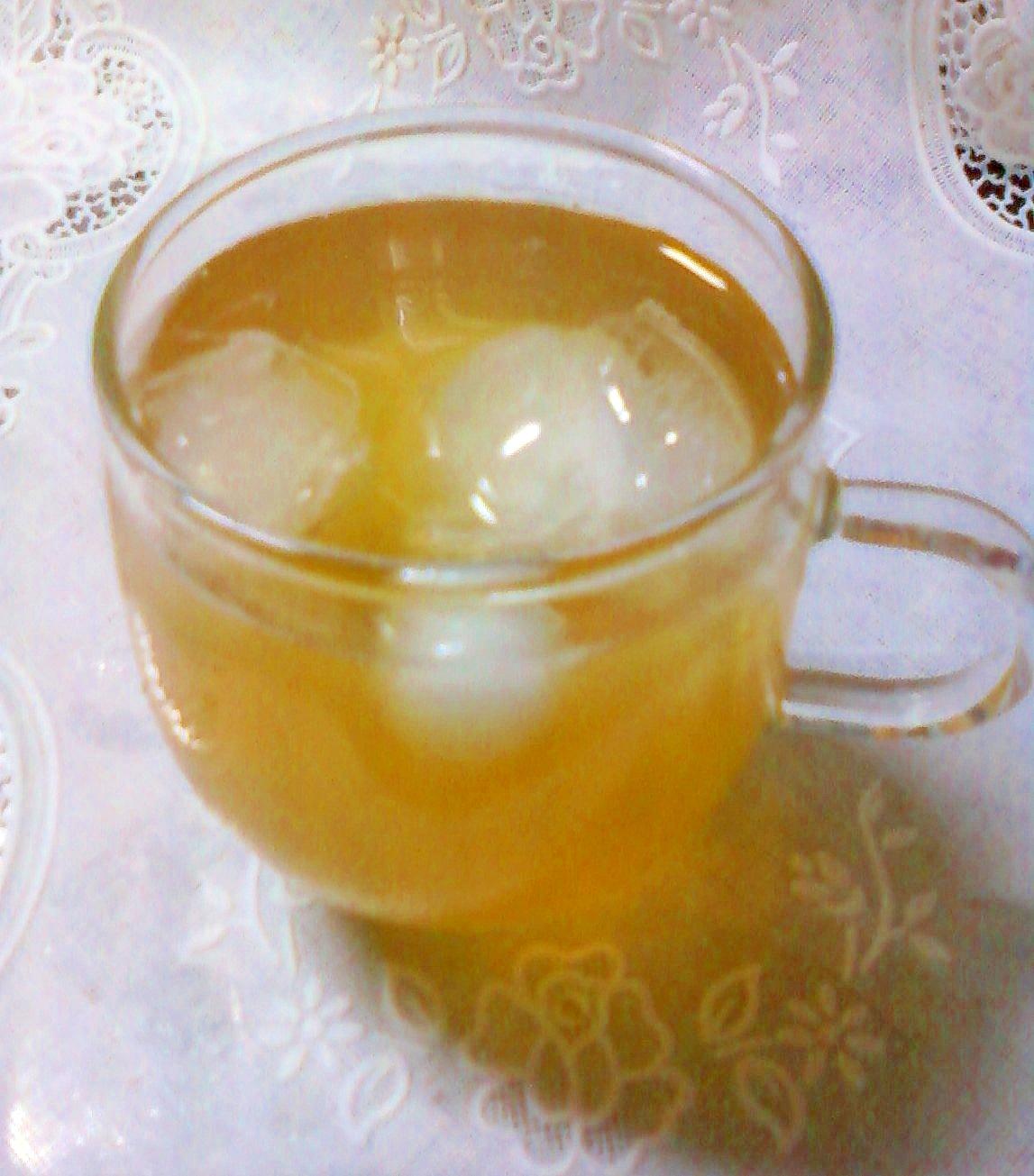 ★。・ホエーはと麦茶割り焼酎☆。.:*:・'゜★