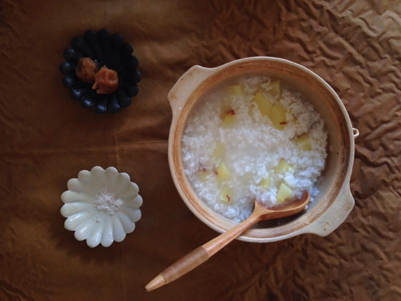 4. さつま芋粥