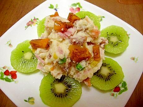柿のポテトサラダ