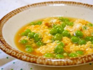 エンドウ 豆 の 卵 とじ