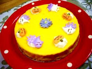 かぼちゃで美味しいチーズケーキ作っちゃお!!