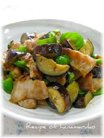 ご飯がすすむ♪ 豚肉となすの味噌炒め☆ レシピ・作り方