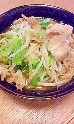 野菜と肉たっぷり味噌ラーメン
