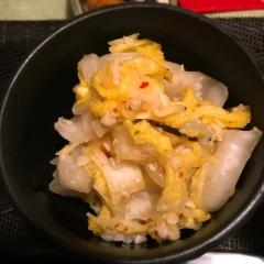 白菜と蕎麦米の浅漬け風