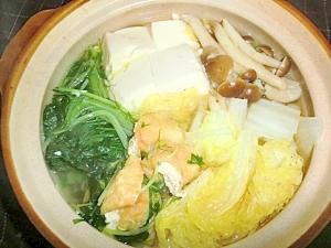 昆布と白だしの旨みで簡単野菜鍋!