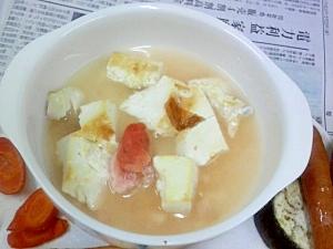 豆腐明太子コンソメスープ
