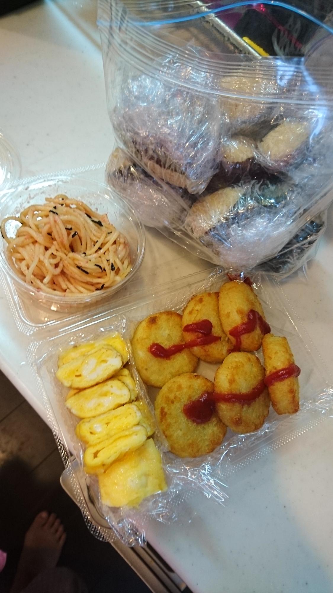 簡単☆ピクニックお弁当☆ レシピ・作り方