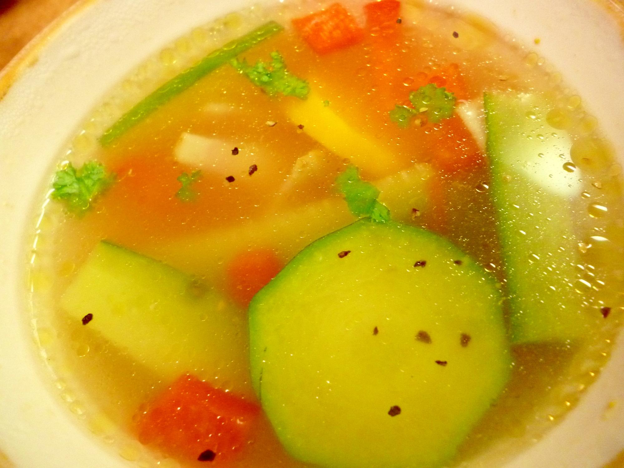 夏のモーニングスープ