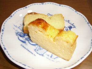ヨーグルトで簡単チーズケーキ