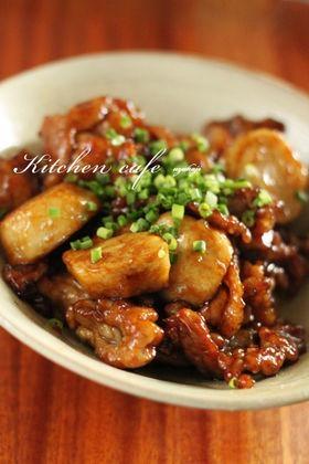 里芋と豚肉の照り焼き レシピ・作り方 by yycafe|楽天レシピ