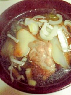 ごぼうと鶏肉の雑煮