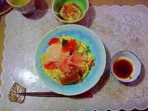 ひなまつりのちらし寿司