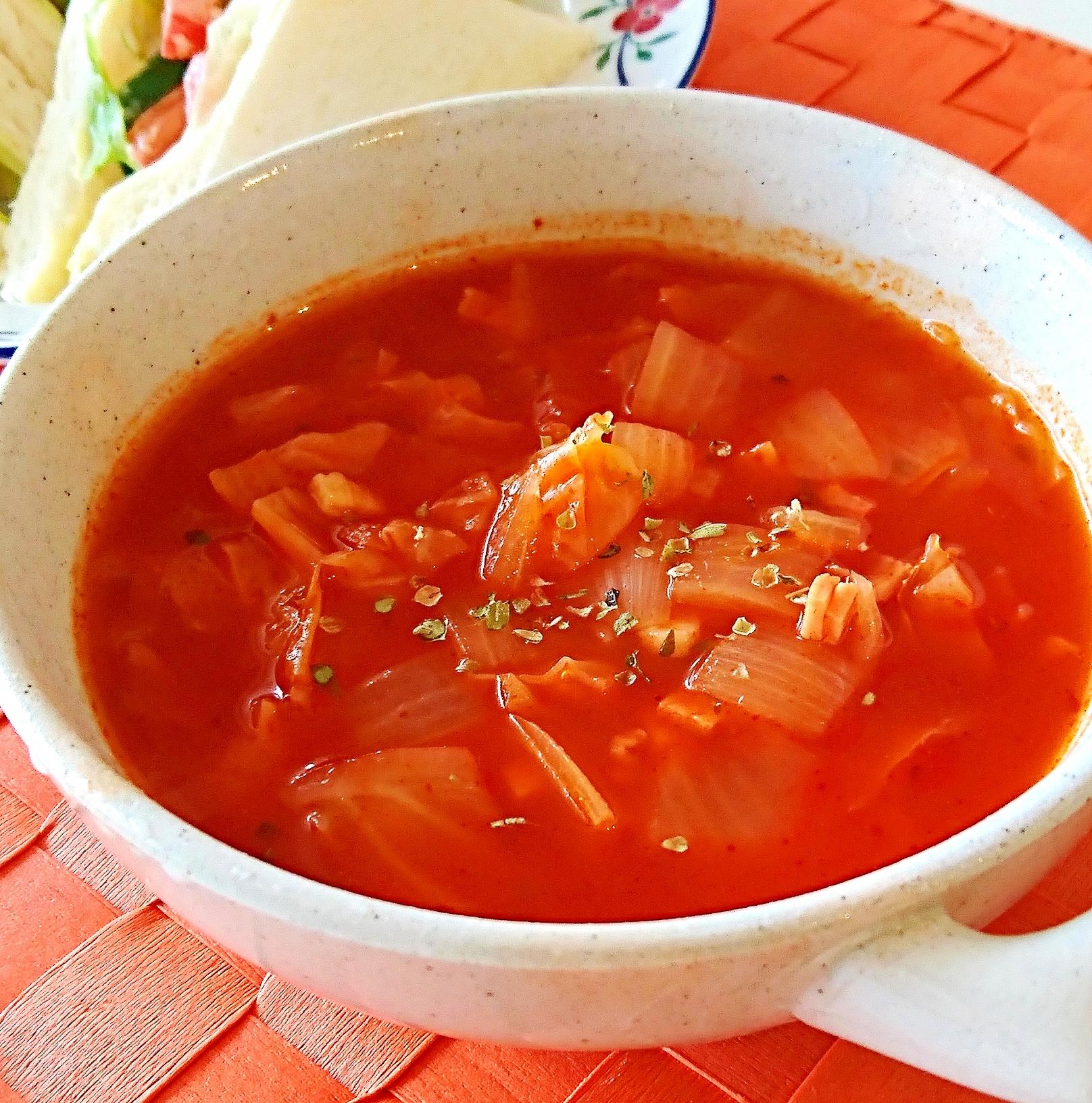 10. トマトジュースdeおかずスープ