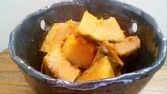 栗のようにホクホク、甘味を閉じ込めた南瓜の蒸し煮