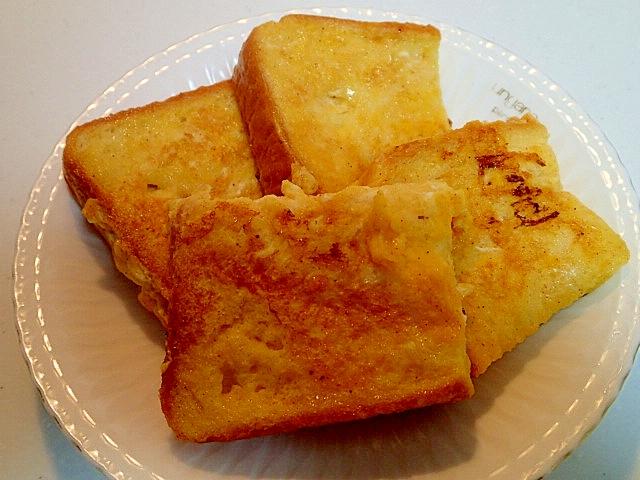 オレンジ生姜ジャムとシナモンのフレンチトースト