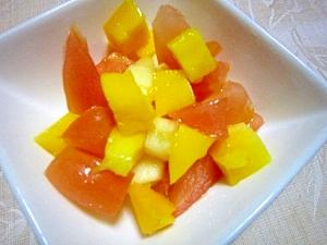 リンゴ酢が美味しいフルーツサラダ